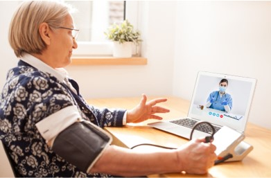 Old-woman-consulting-chronic-disease-using-telemedicine
